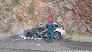Photo of «Dodge Caliber» մակնիշի ավտոմեքենան այրվել է (տեսանյութ)