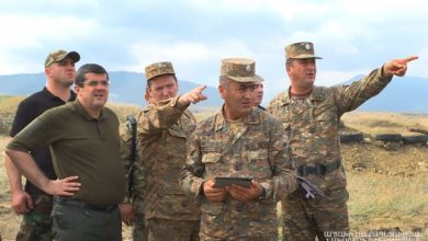 Photo of Արայիկ Հարությունյանն այցելել է առաջնագծի տարբեր հատվածներ
