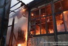 Photo of Պտղունք գյուղում այրվում է երկհարկանի շինություն․ ԱԻ նախարարը դեպքի վայրում է