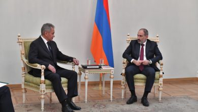 Photo of Նիկոլ Փաշինյանն ընդունել է ՌԴ պաշտպանության նախարար Սերգեյ Շոյգուին