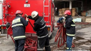 Photo of Գետիկ գյուղում այրվել է մթերային խանութ