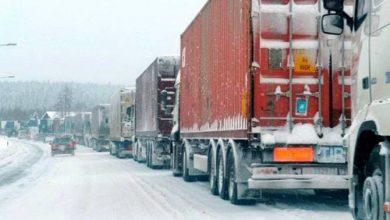 Photo of Լարսը փակ է. ռուսական կողմում կա կուտակված 100 բեռնատար ավտոմեքենա